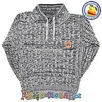 Вязаный свитер для мальчика от 4 до 7 лет (4654-1)