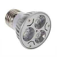 Энергосберегающая светодиодная лампочка на 3 W E27, E14, GU10, MR16, GU5.3