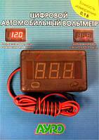 Цифровой автомобильный вольтметр 12V AYRO
