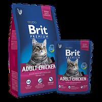 Brit Premium Adult Сhicken (Эдалт Курица), 8 кг