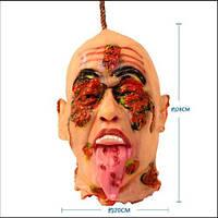 Отрезанная голова подвесная - декорация на хэллоуин