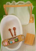 Набор мебели Ванная комната для флоксовых животных Happy Family 012-07B (аналог Sylvanian Families), фото 3