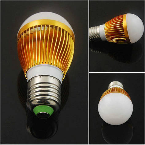 Энергосберегающая светодиодная лампочка на 9W E27, фото 2