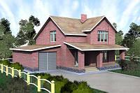 Проект двухэтажного дачного дома
