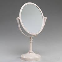 Классическое настольное зеркало с увеличением на х3.  30 см высота (овальное)
