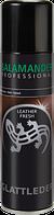 "Аэрозольная краска Черная ""Leather Fresh"" Salamander PROFESSIONAL для гладкой кожи"