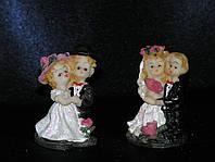 Свадебные фигурки жениха и невесты для торта