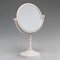 Зеркало с увеличением на х3 для нанесения макияжа .  29 см (круглое)