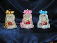 Свадебные фигурки пары голубей на торт