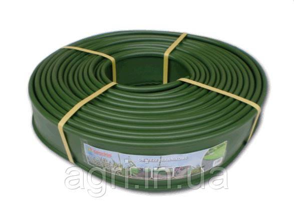 Бордюр ровный 12,5см*18м, зелёный