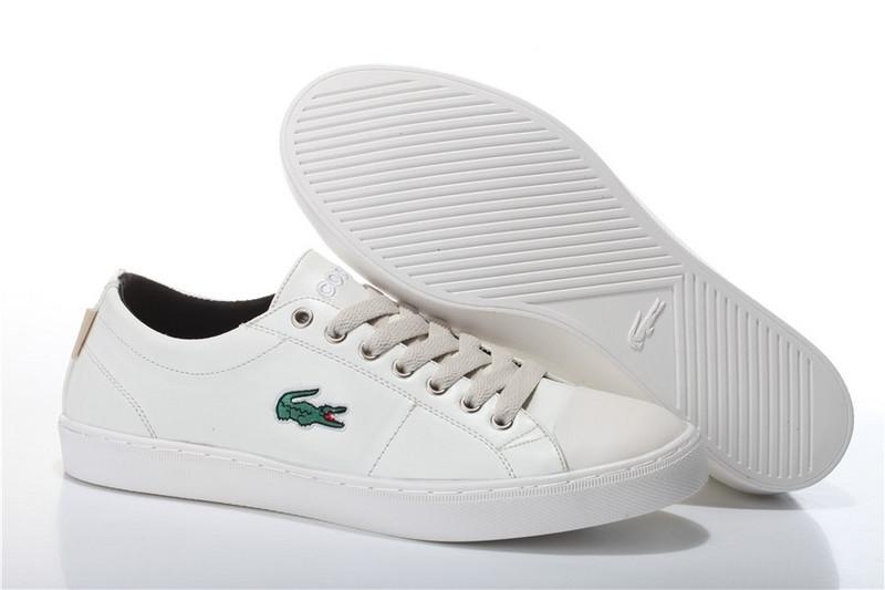 Мокасины мужские Lacoste City Series White (в стиле лакост) белые -  Мультибрендовый интернет- 44d0bbc08c6
