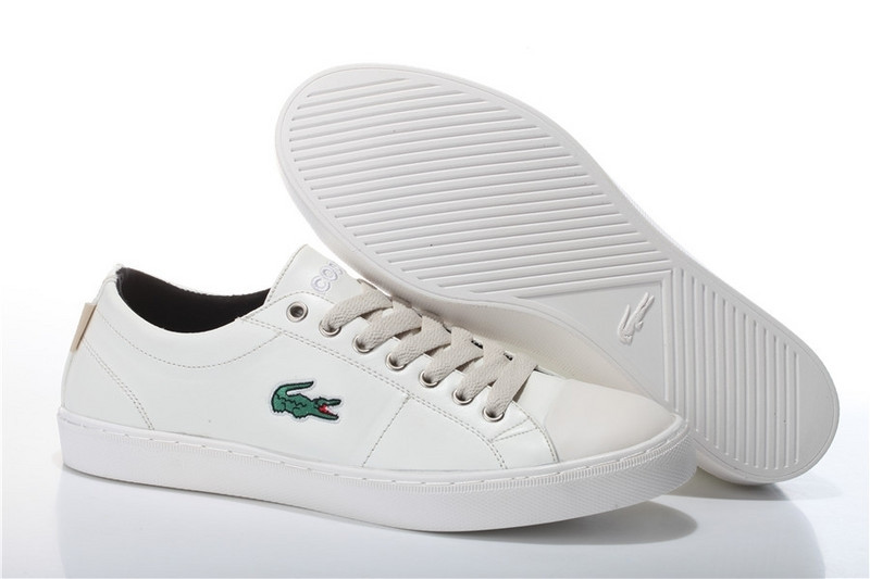 Мокасины мужские Lacoste City Series White (в стиле лакост) белые -  Мультибрендовый интернет- d9407f707f3