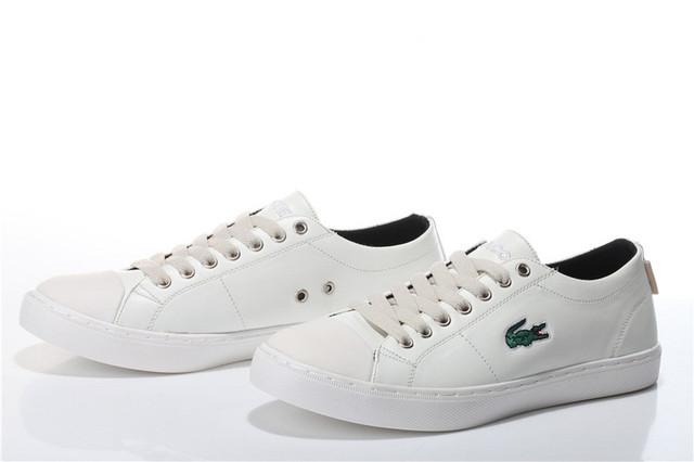 Мокасины мужские Lacoste City Series White (в стиле лакост) белые ... 8f2183e043b