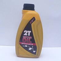 Масло для бензопилы 1,0 л минеральное ТМ 2Т MOTOR OIL