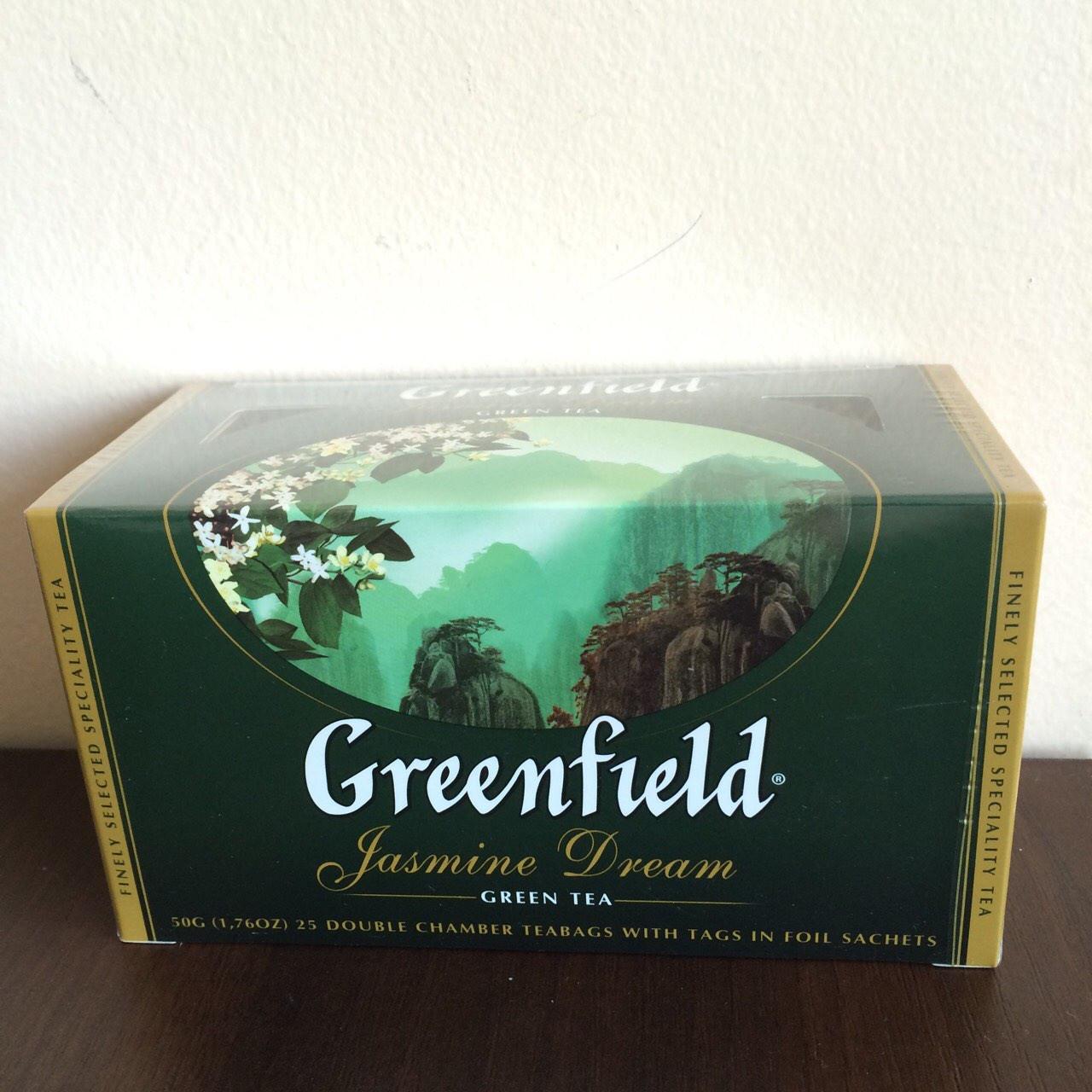Чай Greenfield Jasmine Dream 25 пак.