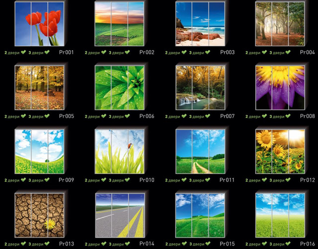 Фотопечать на двери шкафа купе, категория Природа (Фото №1)