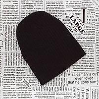 Детская теплая вязанная шапка