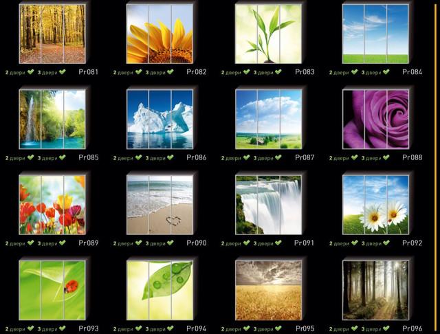 Фотопечать на двери шкафа купе, категория природа (Фото №6)