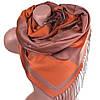 Чудесный женский двусторонний палантин из пашмины 168 на 70 см ETERNO ES2707-3-2 оранжевый