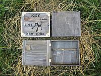 Деревянная Ключница New York