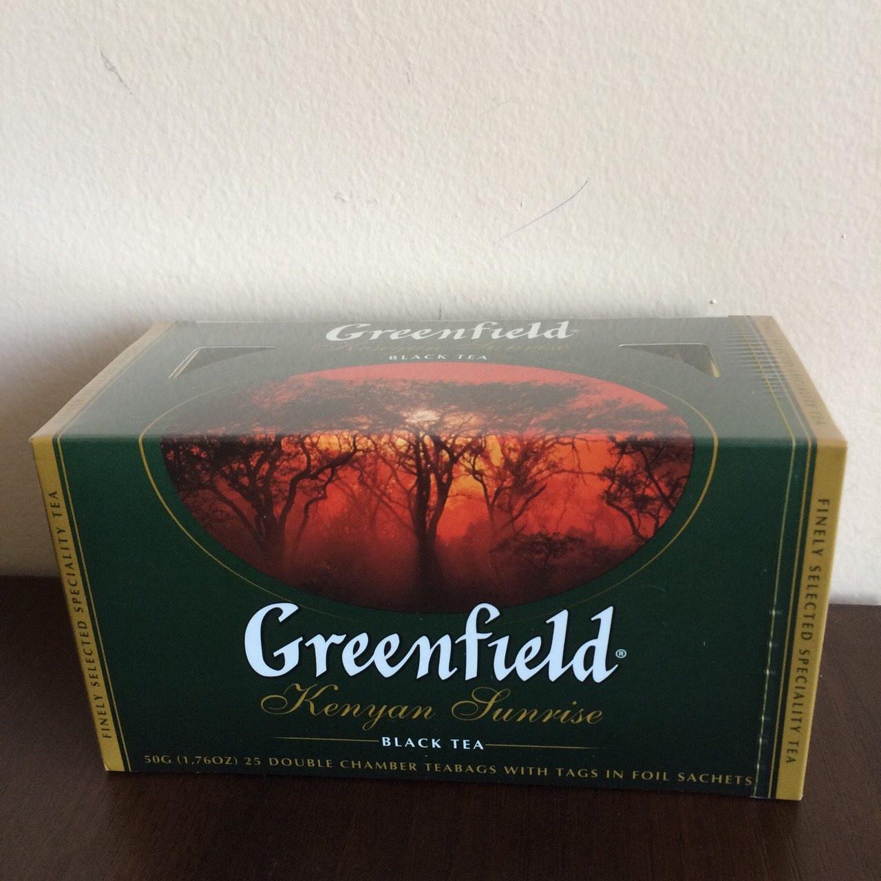Чай Greenfield Kenyan Sunrise 25 пак.