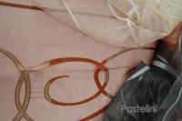 Ткань органза  жаккардовая Milano v1,v2,v3.