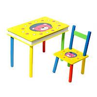 Стол + стул 2803-705(W02-593) Мишка с ящиком