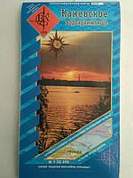 Топографическая карта Каневского водохранилища, справочник рыбака