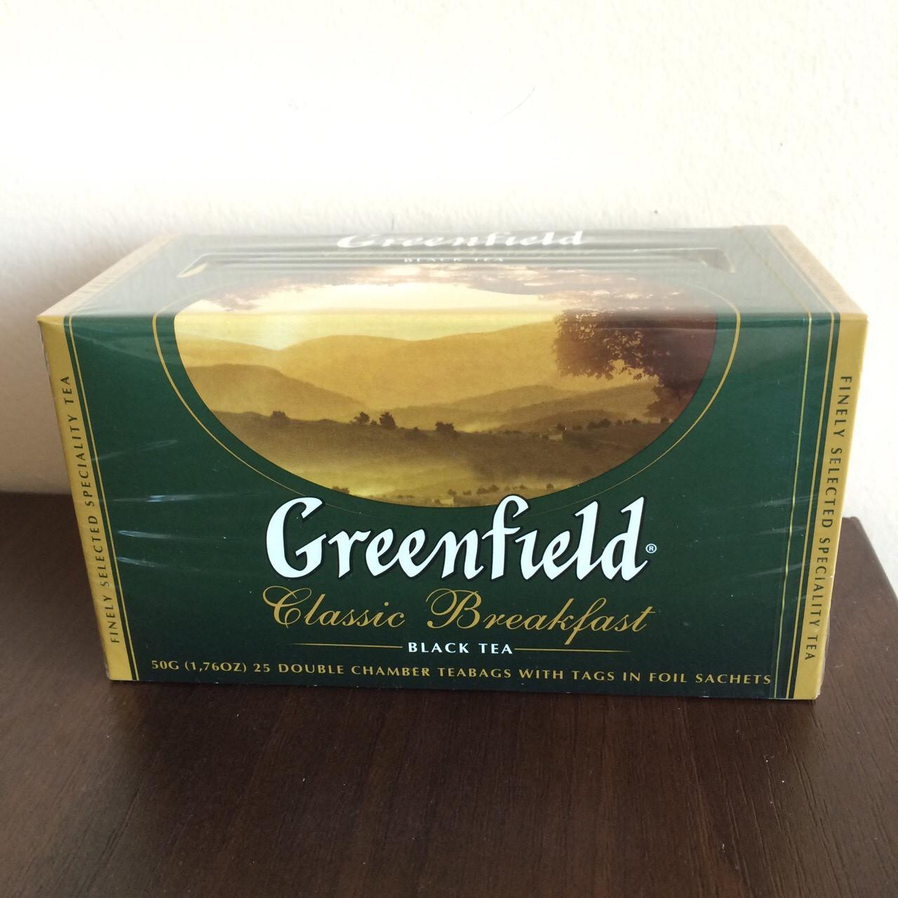 Чай Greenfield Classic Breakfast 25 пак.