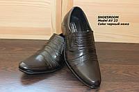 Мужские классические кожаные туфли AV23