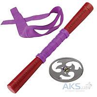 Игровой набор TMNT Набор игрушечного звукового оружия серии Черепашки-ниндзя - Донателло (шест бо, сюрикен, бандана) (92102)