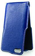 Чехол Status Side Flip Series Doogee Y300, Y300 Pro Dark Blue