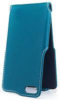 Чехол Status Side Flip Series Doogee Y300, Y300 Pro Turquoise
