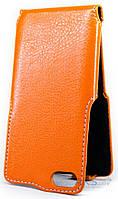 Чехол Status Side Flip Series Doogee Y300, Y300 Pro Orange