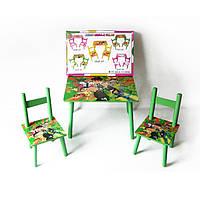 Стол + 2стула W02-5151 Ben-10 60*40*10