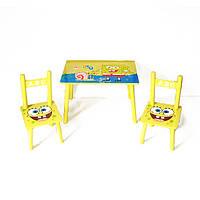 Стол + 2стула W02-5361 Sponge Bob