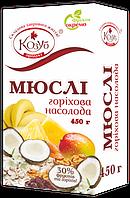 """Мюсли """"Ореховое наслаждение"""", ТМ Козуб продукт, 450 г"""