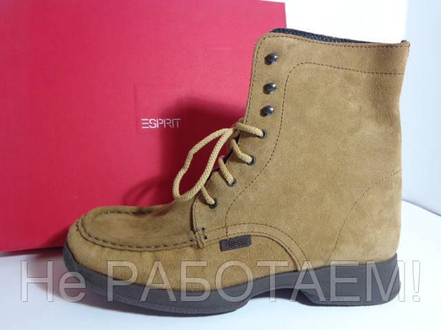 3b657f5af85 Ботинки кожаные Esprit Эсприт