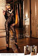 Грациозный комбинезон из кружева Leopard-Black Lace Bodysuit