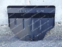 Защита поддона картера Субару Форестер 3 2008 V2.0 (стальная защита двигателя Subaru  Forester 3 сверху)