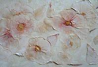 Декорирование в Харькове.Декоративная штукатурка цветы, фото 1