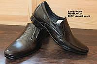 Мужские  кожаные туфли классические AV25
