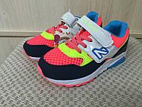 Кроссовки для девочек яркие р. 28,30, фото 1