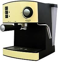 Кофеварка компрессионная Adler AD 4404 Cream