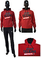 Мужская байка Nike 455-45 Just do it красного цвета