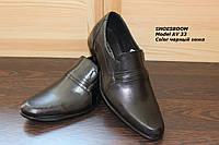 Мужские кожаные туфли классика AV33