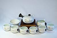 "Набор для чаепитий #6 ""Японский стиль"" Чайник, чахай, сито, 6 пиал, фото 1"