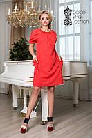 Стильное летнее платье из хлопка