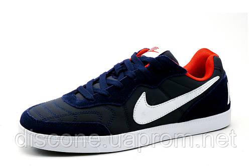 Спортивные кроссовки Найк, мужские, синие