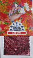 Ткань ART NAIL красная